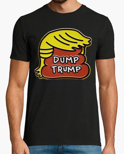 Camiseta dump trump - caca
