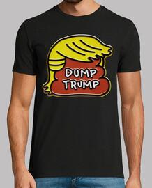 dump trump - caca