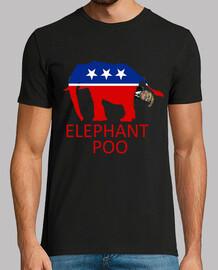 dump trump - caca de elefante