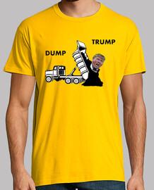 dump trump - camión de estiércol