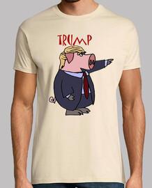 dump trump - cerdo trump