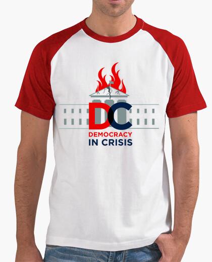 Camiseta dump trump - democracia en crisis