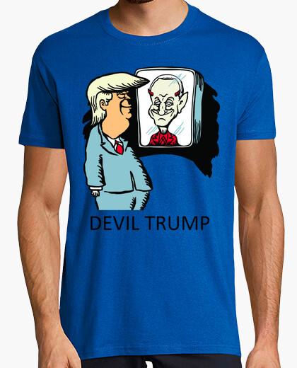 Camiseta dump trump - demonio trump