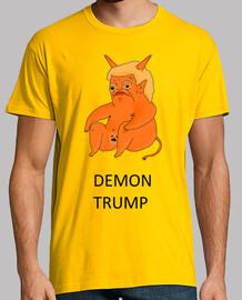 dump trump - demonio trump