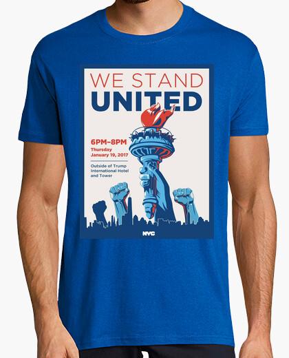Camiseta dump trump - estamos unidos