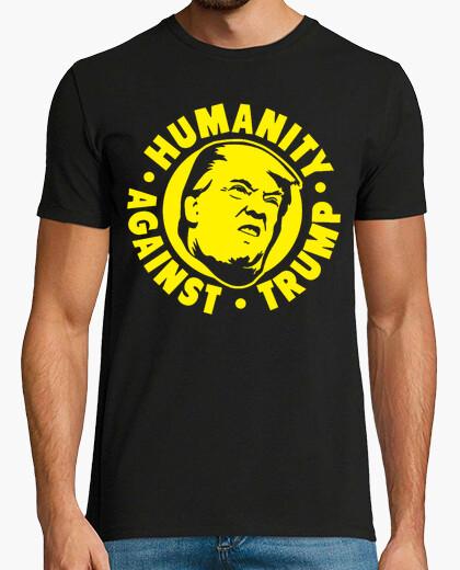 Camiseta dump trump - humanidad contra trump