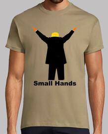 dump trump - manos pequeñas