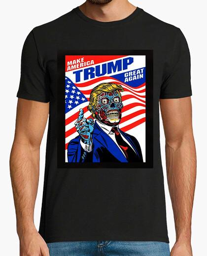 Camiseta dump trump - muerte americana