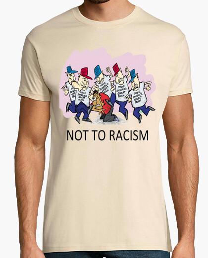Camiseta dump trump - no al racismo