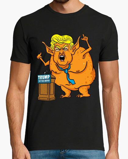 Camiseta dump trump - ogro repugnante
