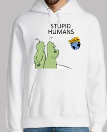 dump trump - stupid humans