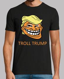 dump trump - trol trump, cara