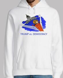 dump trump - trump vs democracy