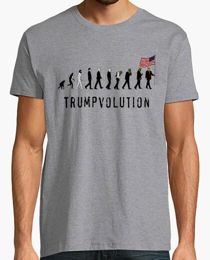 Tee-shirt dump trump - trumpvolution