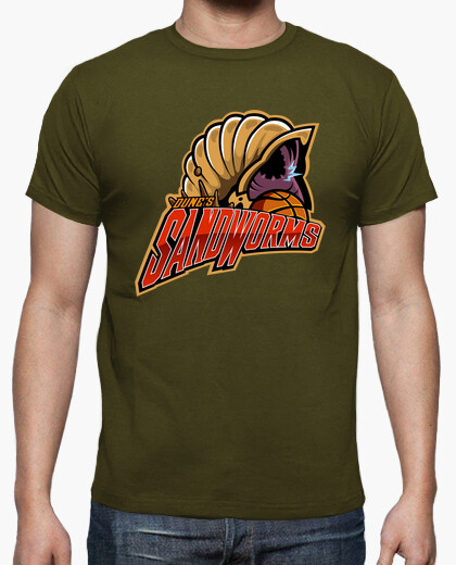 Camiseta Dune´s Sandworms