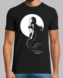 dunkle meerjungfrau