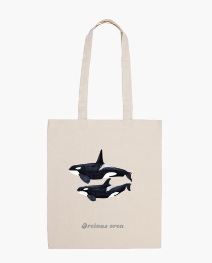 Sac duo orca (orcinus orca) cartouchière