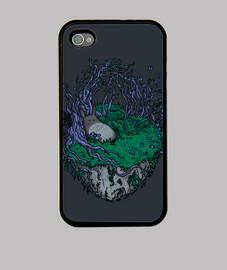 durmiendo en un bosque