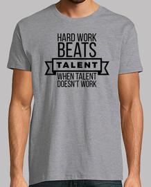 duro lavoro batte il talento