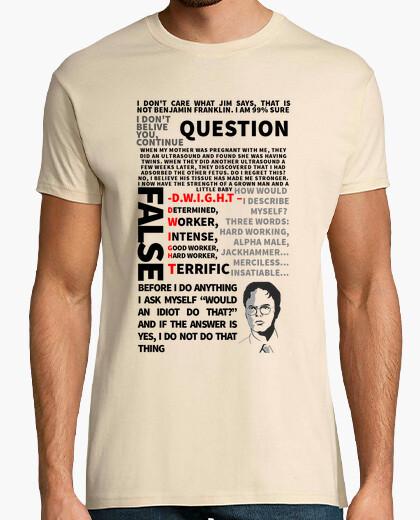 Tee-shirt dwight, le bureau