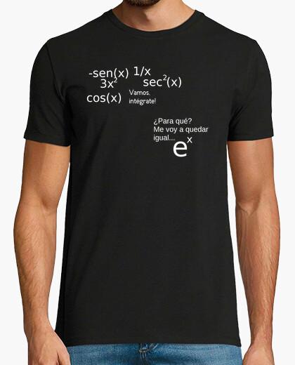 Camiseta e elevado a x