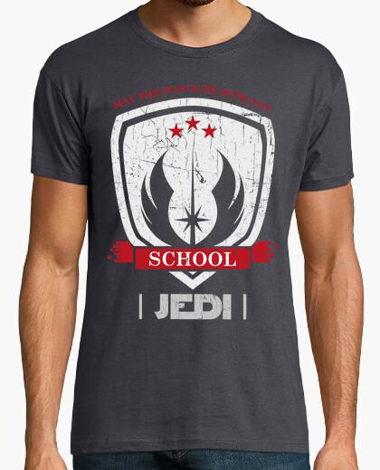 Tee-shirt école jedi (ed foncé)