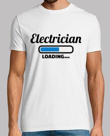 électricien chargement