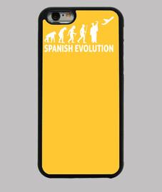 évolution espagnol c. sombre