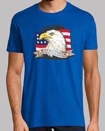 eagle flag t-shirt