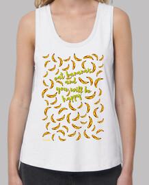 eat banane e you will essere felice