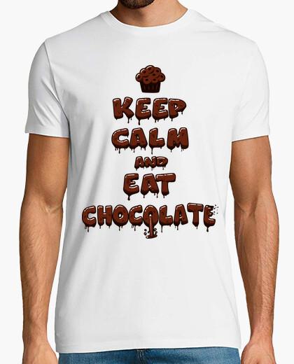 T-shirt eat cioccolato