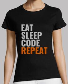 eat code de sommeil répéter le style féminin 2