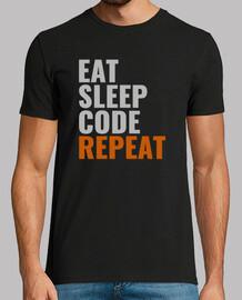 eat code sleep ripetere lo stile maschile 2