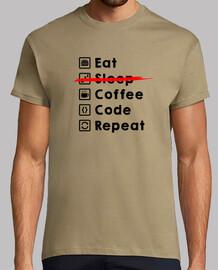 Eat Coffee Code Repeat dark