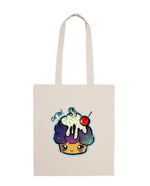 eat me-space cupcake shoulder bag