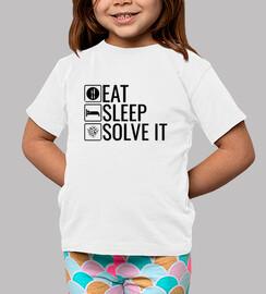 eat s lee p solve it - rubik cube