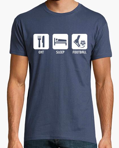 Camiseta Eat, Sleep, Football