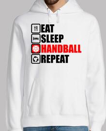 eat sleep handball repeat