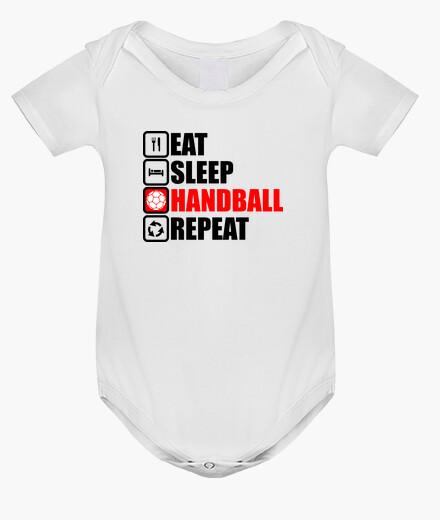 Vêtements enfant Eat Sleep Handball Repeat