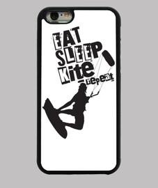 eat sleep kite iphone 6 case