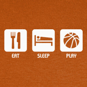 Eat, Sleep, Play T-shirts