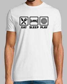 eat sleep play de golf