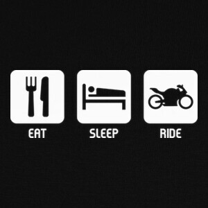Eat, Sleep, Ride T-shirts