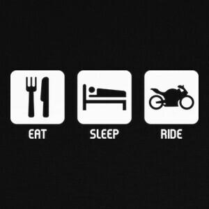 Tee-shirts Eat, Sleep, Ride