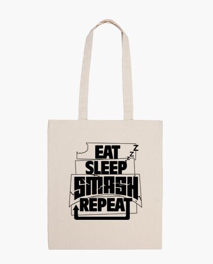 Bolsa EAT SLEEP SMASH REPEAT
