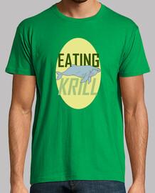 Eating krill