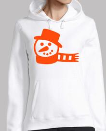 écharpe de bonhomme de neige