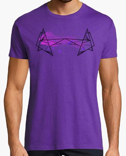 Tee-shirt éclaboussure de couleur