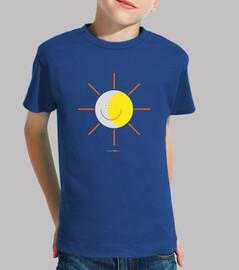 ECLIPSE - SOL Y LUNA - camiseta infantil