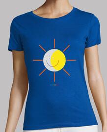 ECLIPSE - SOL Y LUNA camiseta mujer